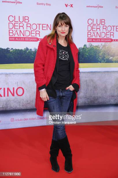Ina Paule Klink attends the premiere of the film Club der Roten Baender Wie alles begann at Zoo Palast on February 05 2019 in Berlin Germany
