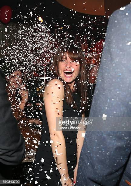 Ina Paule Klink during the 'Drunk In Love' Party hosted by Constantin Film and zLabels on February 14 2016 in Berlin Germany