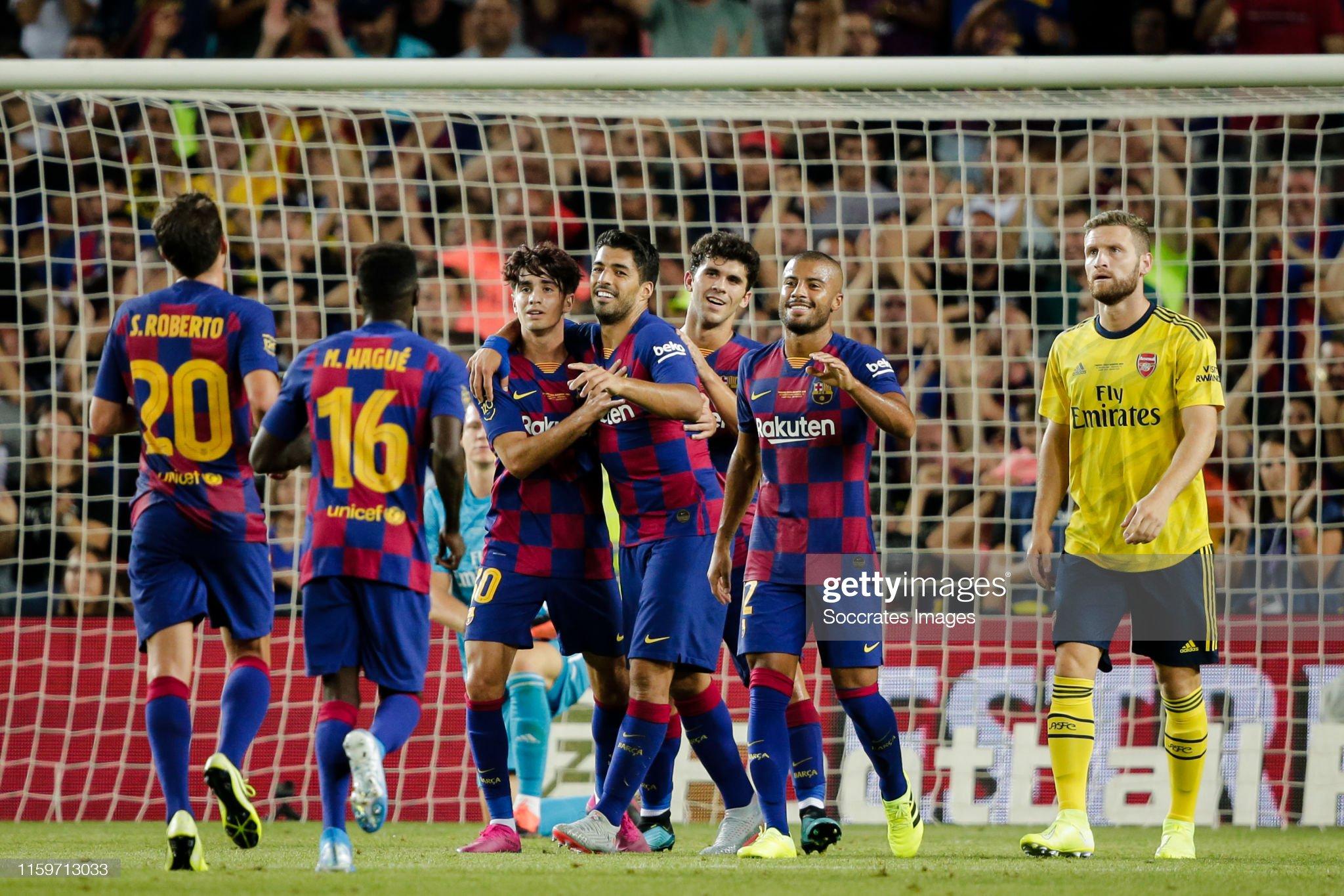 FC Barcelona v Arsenal - Club Friendly : News Photo