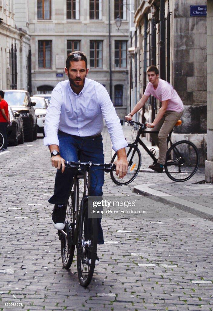 Spanish Family Royal Sighting In Geneva - September 29, 2017 : News Photo