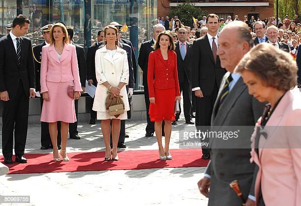 Inaki UrdangarinCristina of Spain Elena of Spain Princess Letizia of Spain Prince Felipe of Spain King Juan Carlos of Spain and Queen Sofia of Spain...