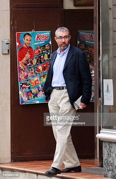 Inaki Urdangarin's ex business partner Diego Torres is seen on June 7 2012 in Barcelona Spain