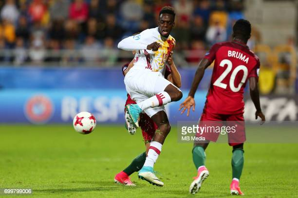 Inaki Williams during the UEFA European Under21 match between Portugal and Spain on June 20 2017 in Gdynia Poland