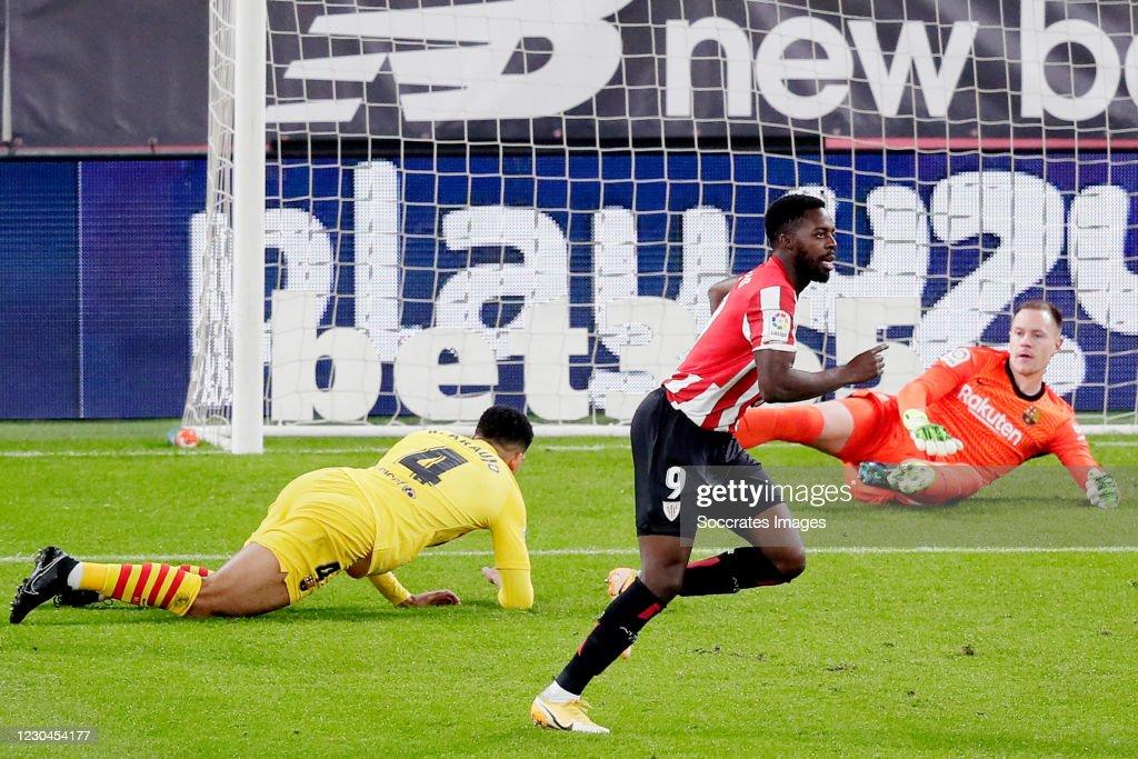 Athletic de Bilbao v FC Barcelona - La Liga Santander : News Photo