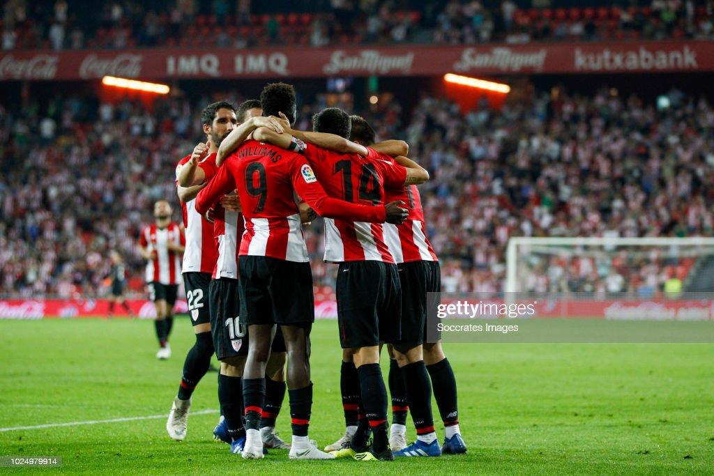 Inaki Williams of Athletic Bilbao, Markel Susaeta of ...