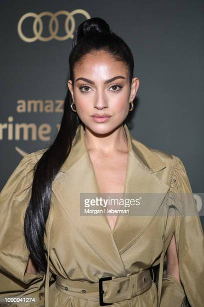 Inanna Sarkis arrives at Amazon Prime Video's Golden Globe Awards After Party at The Beverly Hilton Hotel on January 06 2019 in Beverly Hills...