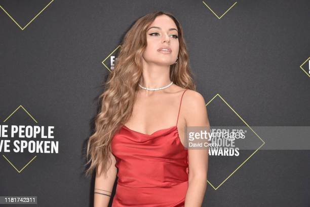 Inanna Sarkis attends 2019 E! People's Choice Awards - Arrivals at The Barker Hanger on November 10, 2019 in Santa Monica, California.