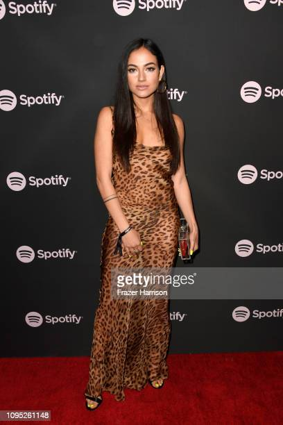 "Inanna Sarkis attends Spotify ""Best New Artist 2019"" event at Hammer Museum on February 7, 2019 in Los Angeles, California."