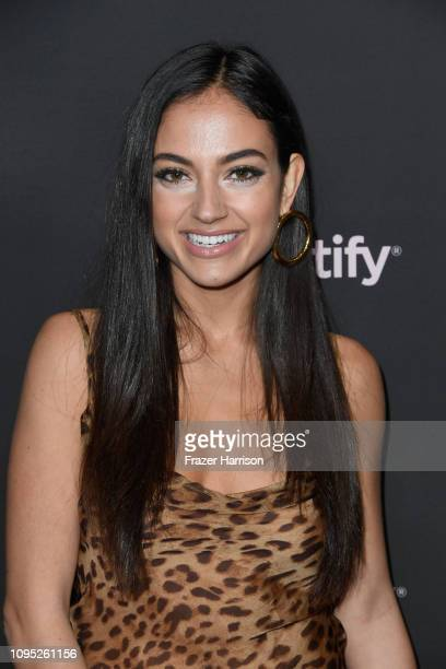 Inanna Sarkis attends Spotify Best New Artist 2019 event at Hammer Museum on February 7 2019 in Los Angeles California