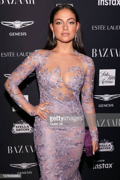 Inanna Sarkis attends the 2018 Harper's BAZAAR ICONS Party at The Plaza Hotel on September 7 2018 in New York City