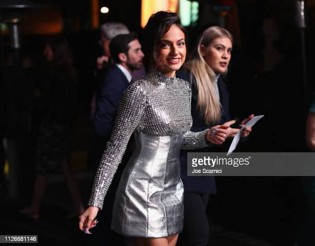 Inanna Sarkis attends the Cadillac Oscar Week Celebration at Chateau Marmont on February 21 2019 in Los Angeles California
