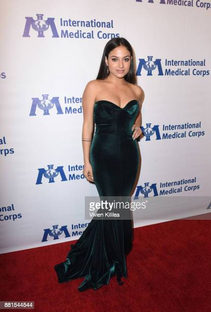Inanna Sarkis attends the International Medical Corps Annual Awards Celebration on November 28 2017 in Los Angeles California