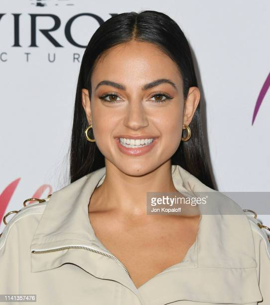 """Inanna Sarkis attends the Los Angeles premiere of Aviron Pictures' """"After"""" at The Grove on April 08, 2019 in Los Angeles, California."""