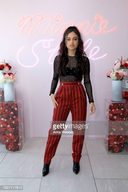 Inanna Sarkis attends the #MinnieStyle Suite celbrating Minnie Mouse's 90th Anniversary at Nomo Soho Hotel on September 5 2018 in New York City