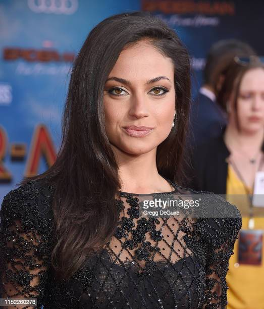 Inanna Sarkis attends the premiere of Sony Pictures' SpiderMan Far From Home at TCL Chinese Theatre on June 26 2019 in Hollywood California