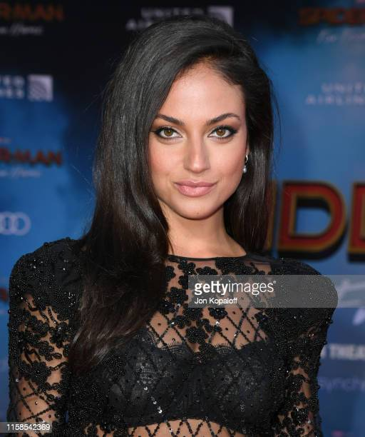 "Inanna Sarkis attends the Premiere Of Sony Pictures' ""Spider-Man Far From Home"" at TCL Chinese Theatre on June 26, 2019 in Hollywood, California."