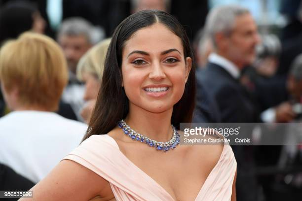 "Inanna Sarkis attends the screening of ""Yomeddine"" during the 71st annual Cannes Film Festival at Palais des Festivals on May 9, 2018 in Cannes,..."