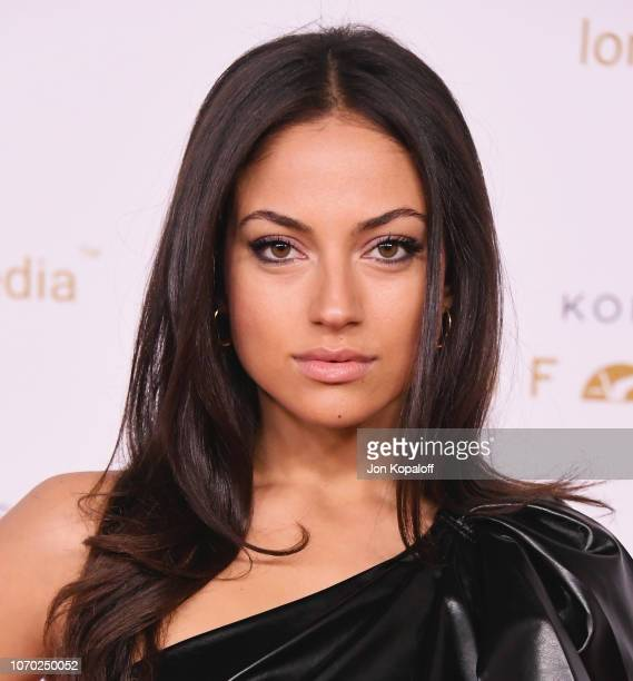 Inanna Sarkis attends the Unforgettable Gala 2018 at The Beverly Hilton Hotel on December 8, 2018 in Beverly Hills, California.