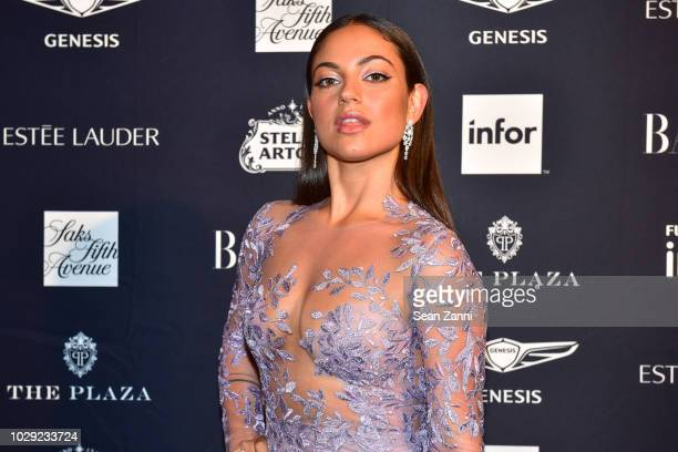 Inanna Sarkis attends The Worldwide Editors Of Harper's Bazaar Celebrate ICONS by Carine Roitfeld presented by Infor Stella Artois FUJIFILM Estee...