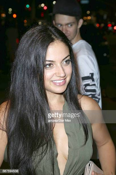 Inanna Sarkis is seen on August 8 2016 in Los Angeles CA