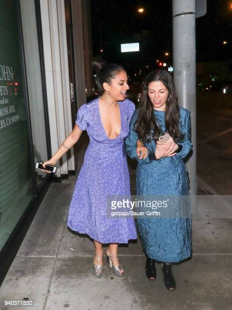 Inanna Sarkis is seen on March 30 2018 in Los Angeles California