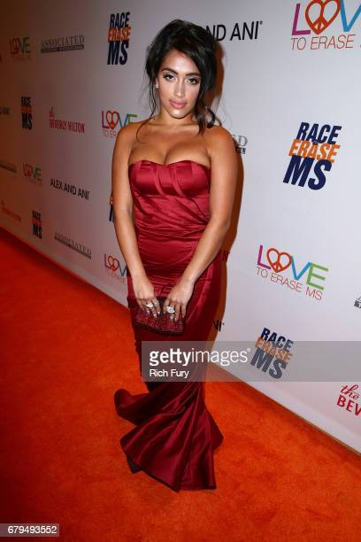 Inas X attends the 24th Annual Race To Erase MS Gala at The Beverly Hilton Hotel on May 5 2017 in Beverly Hills California