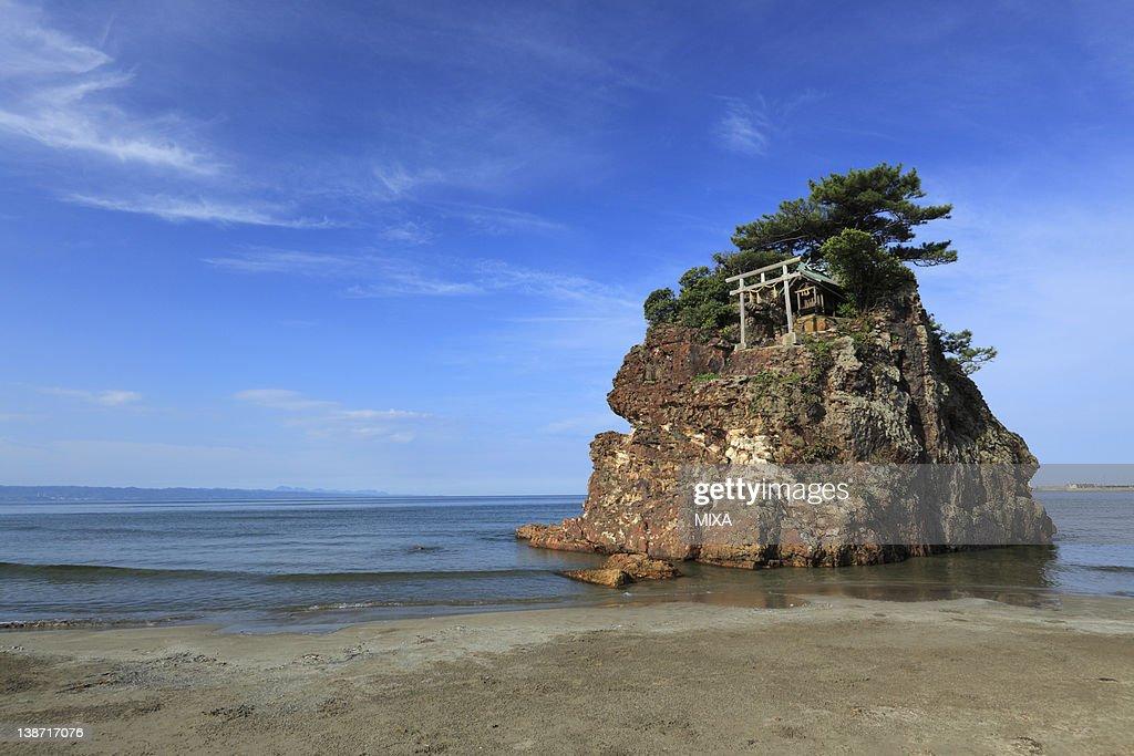 Inasanohama Beach, Izumo, Shimane, Japan : Stock Photo