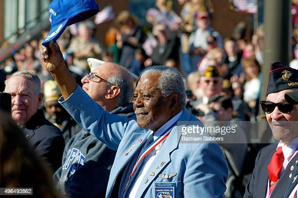 inaugural philly veterans parade - tuskegee airmen stock pictures, royalty-free photos & images