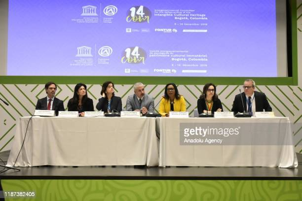 Inaugural press conference of 14th session of the Intergovernmental Committee for the Safeguarding of the Intangible Cultural Heritage of Unesco held...