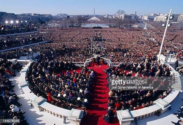 Inauguration of President of United States President William Jefferson Clinton42nd President52nd Presidency Washington DC 1/20/93