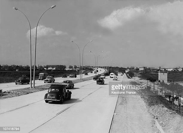 Inauguration Of The South Motorway In France
