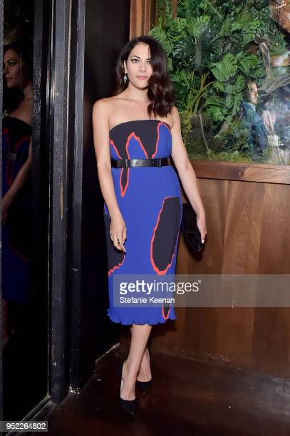 Inbar Lavi attends Marie Claire Celebrates Fifth Annual 'Fresh Faces' in Hollywood with SheaMoisture Simon G and Sam Edelman at Poppy on April 27...