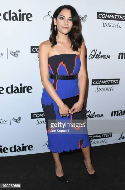 Inbar Lavi attends Marie Claire's 5th Annual 'Fresh Faces' at Poppy on April 27 2018 in Los Angeles California