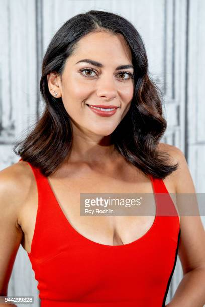 Inbar Lavi discusses Imposters with the Build Series at Build Studio on April 10 2018 in New York City
