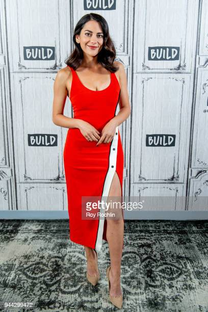 Inbar Lavi discusses 'Imposters' with the Build Series at Build Studio on April 10 2018 in New York City