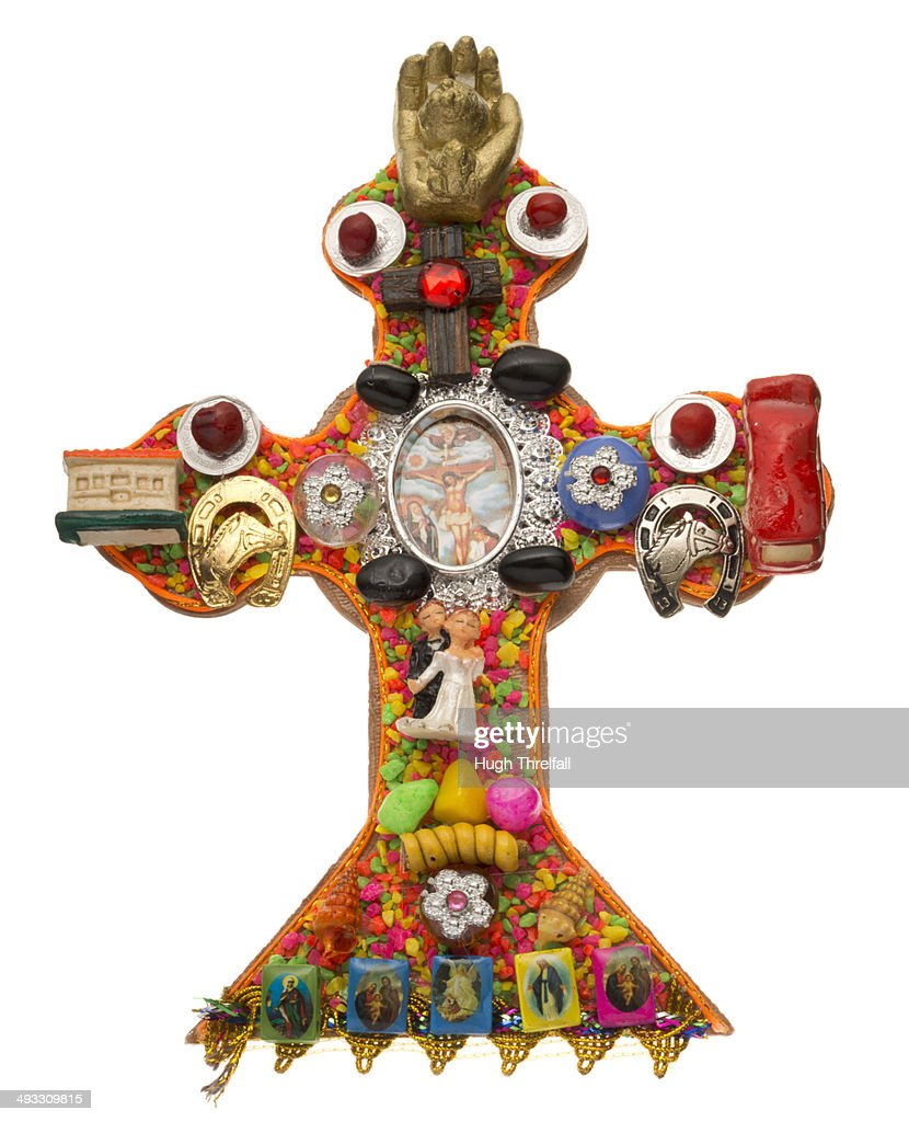 Inca And Christian Religious Symbols Mixed Stock Photo Getty Images