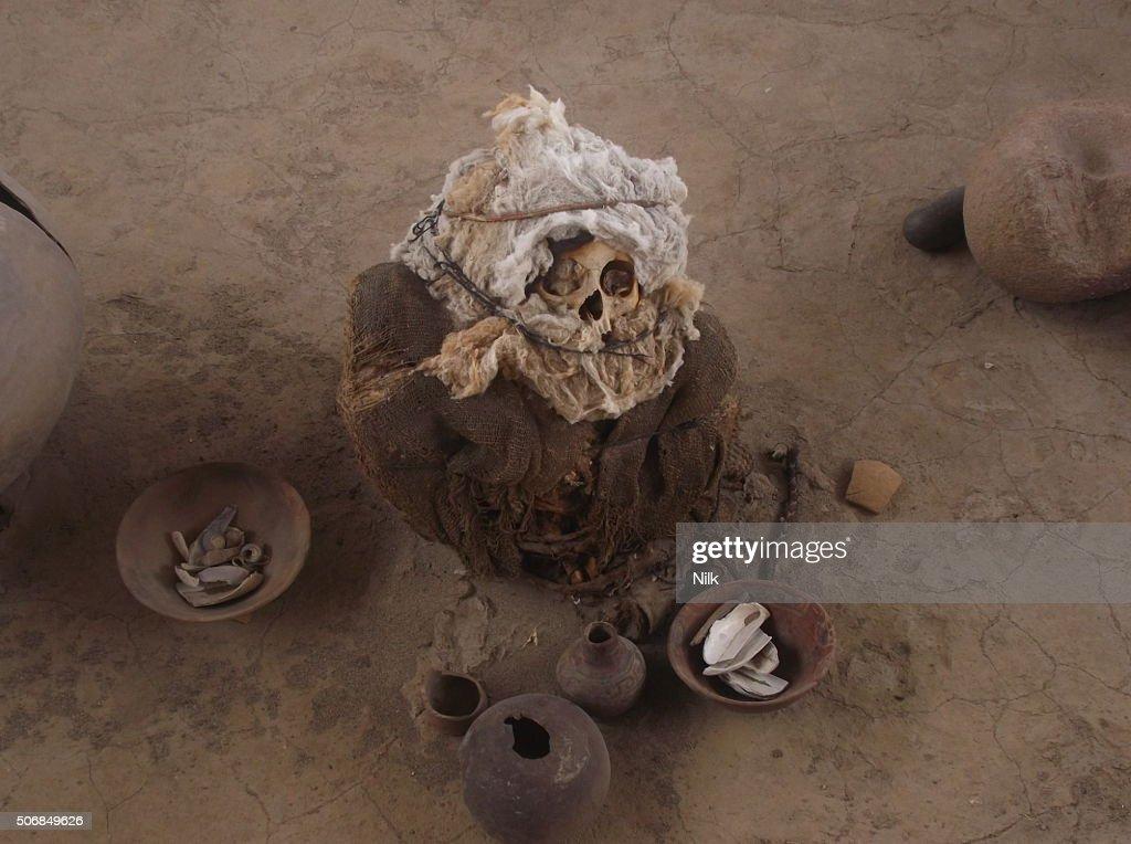 Inca Baby Mummy : Stock Photo