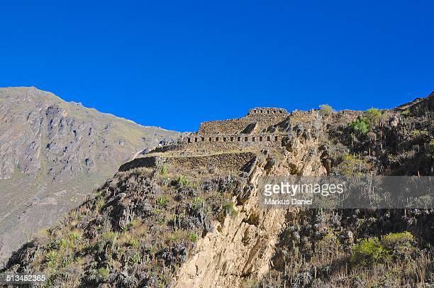 "inca ruins in ollantaytambo, peru - ""markus daniel"" photos et images de collection"