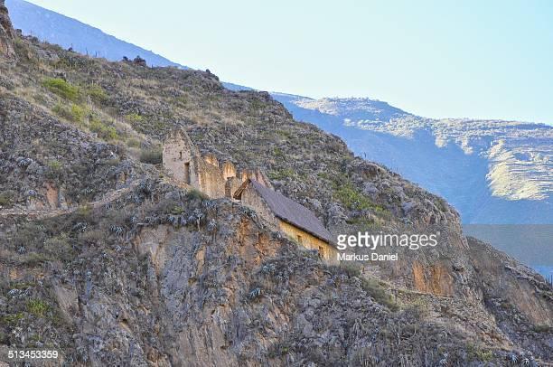 Inca Ruins in Ollantaytambo, Peru