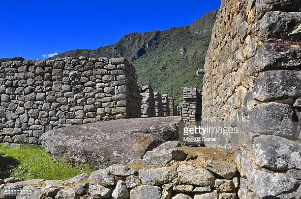 Inca Ruins of the Urban Sector Machu Picchu, Peru
