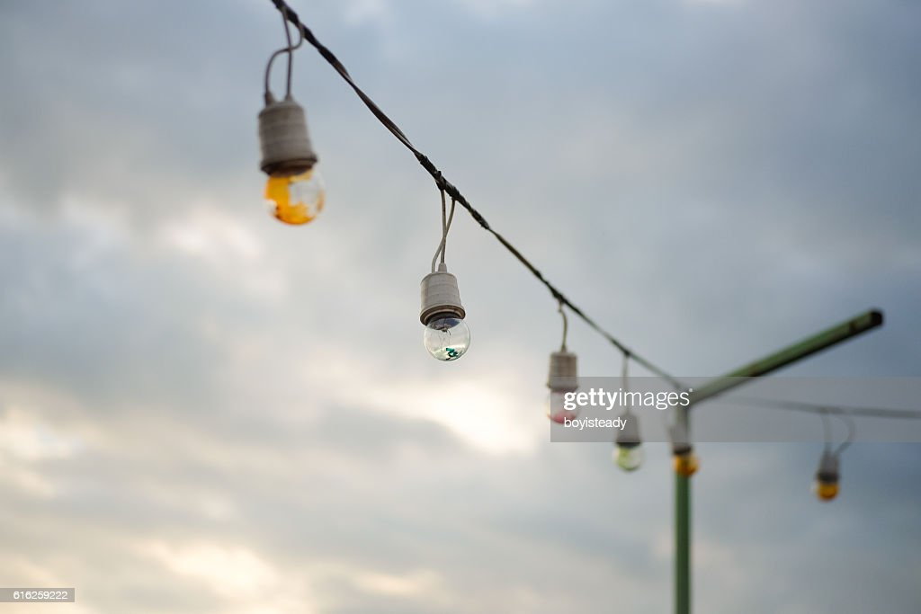 Incandescent Light Bulb : Stock Photo