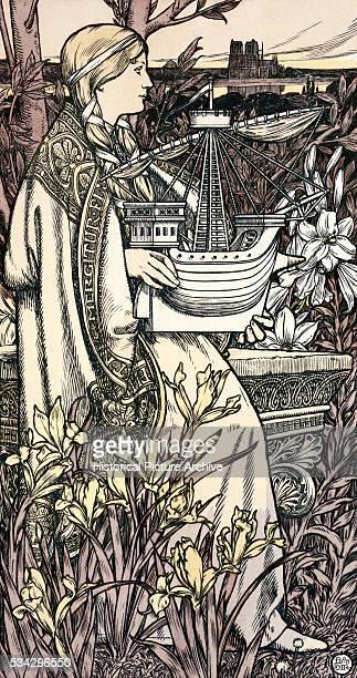 Incantation by Alphonse Marie Mucha