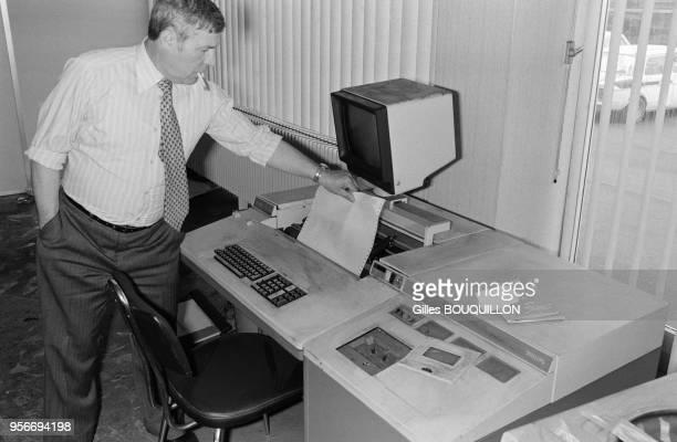 Incendie criminel d'un ordinateur chez HoneywellBull à Toulouse le 9 avril 1980 France