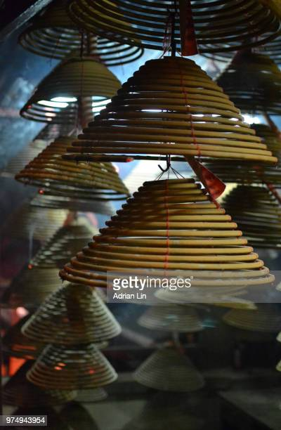 incense coils - incense coils stock pictures, royalty-free photos & images