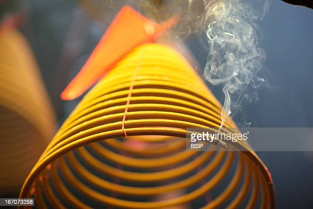 Incense Pau Kong Temple Incense coils