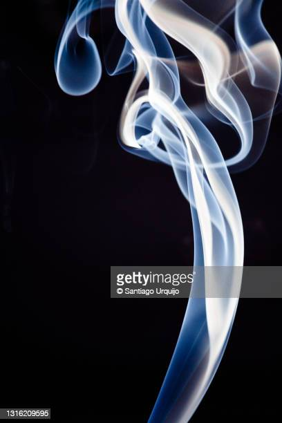 incense smoke pattern - capital region stock pictures, royalty-free photos & images