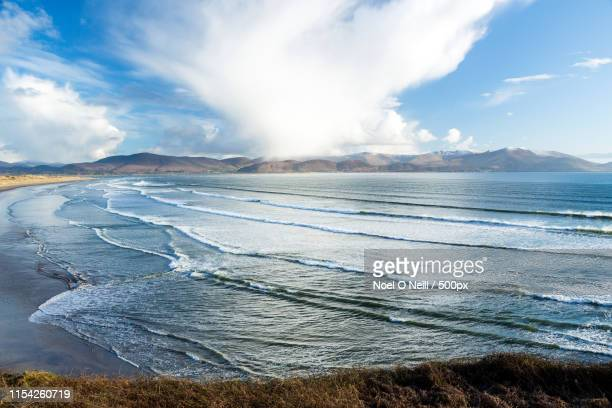 inch beach on the dingle peninsula - inch stock pictures, royalty-free photos & images