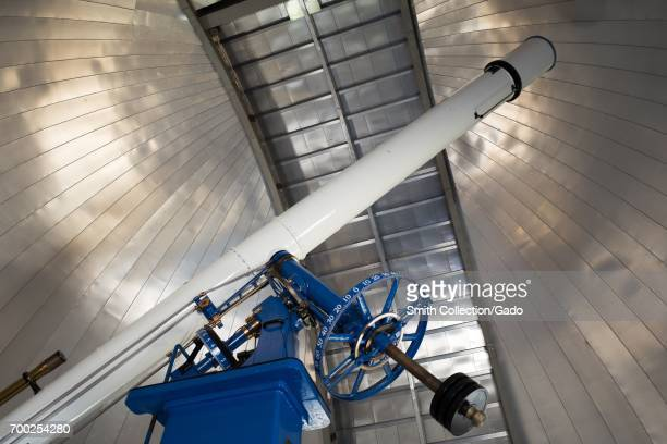 20 inch diameter refracting telescope from Warner and Swasey nicknamed Rachel originally installed at Chabot Observatory in 1914 and now used at the...