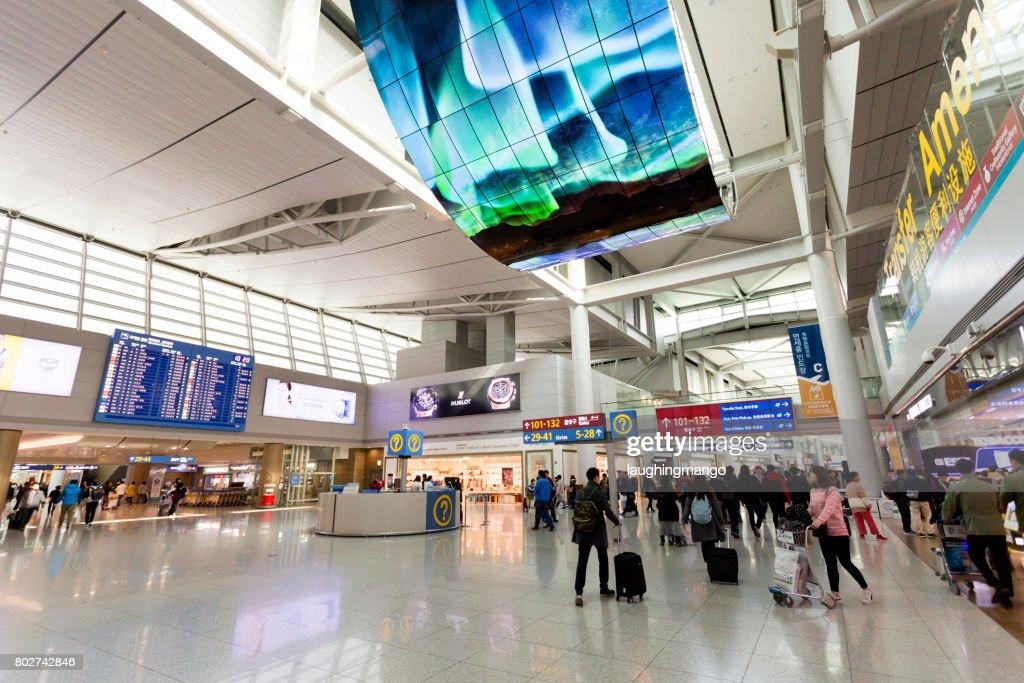 Incheon International Airport Seoul Korea Stock Photo | Getty Images