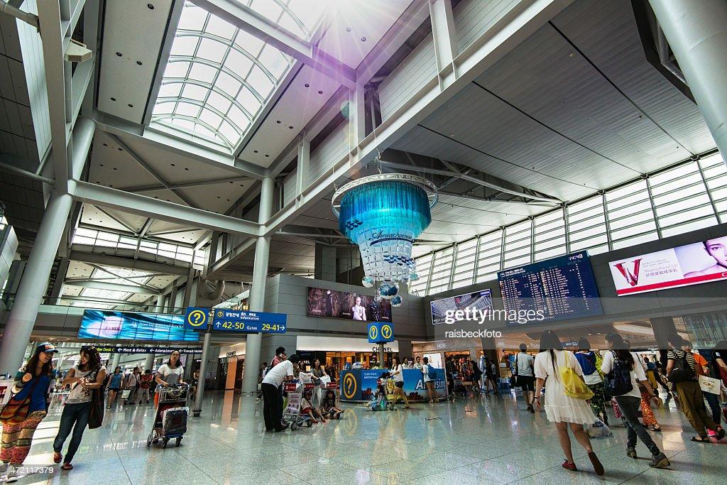仁川国際空港、韓国/인천국제공항 : ストックフォト